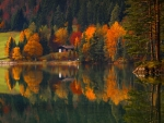 Autumn Colors Reflection