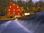 Clinton Mill, Raritan River, New Jersey