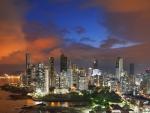 evening on panama city