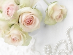Roses with Pearls
