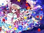 Raining with flowers