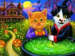 Halloween Kitties