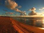 Rusty Sand at Sunrise