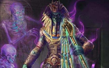 dead pharaoh