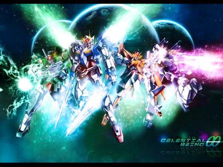 Gundam oo - gundam, war, justice