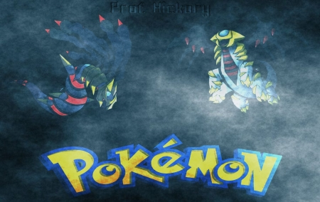 Spooky Giratina V1 - mac, windows 9, pokemon, windows 8, windows, ghost, spooky, ghosts, windows 7, windos 10, giratina