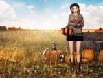 Autumn Cowgirl