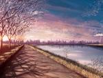 Lake and City