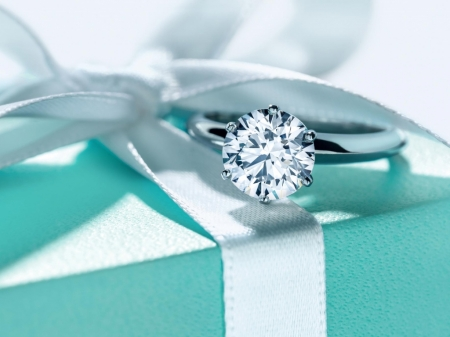 Tiffany diamond ring - rings, diamonds, wedding, platinum