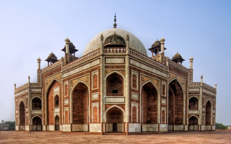 stonework of the mughals humayuns tomb - tomb, temple, domes, stonework