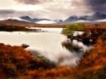Rannoch Moor, Glencoe, Scottish Highlands