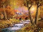 Bridge Over the Stream
