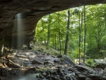 Glory Hole Waterfall, Arkansas