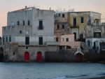 Old Buildings on the sea Ischia Italy