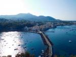 Birds eye view Ischia Italy