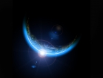 Sun Behind Earth