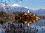 Lake Bled at Fall