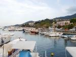 Moored Boats at Lacco Ameno Italy