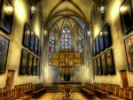 superb chapel interior hdr