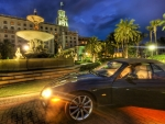 jaguar at the breakers hotel in palm beach hdr