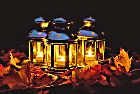 autumn lanterns photography abstract background wallpapers on