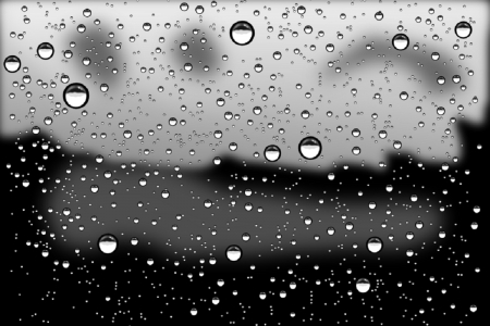 Rain Drops - Rain, Drop, Ball, Wet