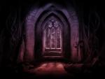 scary hall
