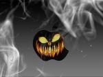 scary apple pumpkin