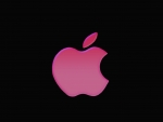 beautiful pink apple