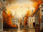 Old City in Autumn