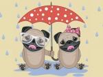 Rainy Day Pugs