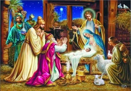 Jesus Christ Birth 3d And Cg Abstract Background