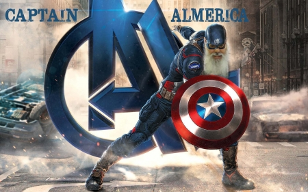 Captain Almerica - people, funny, entertainment, technology