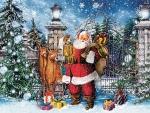 Santa at the Gate F1C