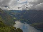 lovely geiranger fjord in norway