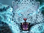 Snow leopard fantasy