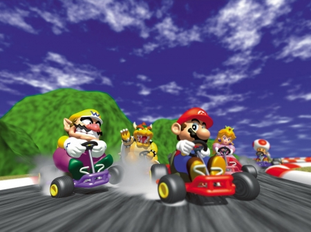 Mario Kart 64 - Persona 4, Mario Party, Super Smash Bros, Dragon Ball Super