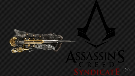 Assassins Creed Syndicate - Play Station, video game, PS, gauntlet, XBox, Microsoft Windows, gamer, Assassins Creed Syndicate, hidden blade