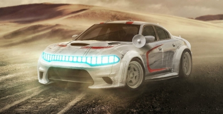 What Cars Would The Star Wars Characters Drive - White, Star Wars, Lights, Mopar