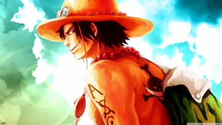ace in one piece - jacket, piece, one, ace, hat
