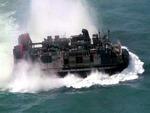U.S. Navy Landing Hovercraft