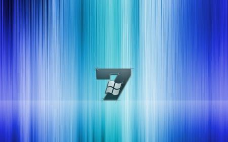 Wallpaper 35 - Windows 7 - blue, microsoft, seven, cyan, windows, 7, vista, windows 7, green