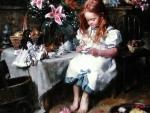 Lilies  And Tea f