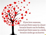 tree,hearts,love,quote,
