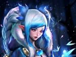 Snow lotus elf