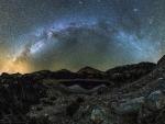 Milkey Way over Mt Lassen