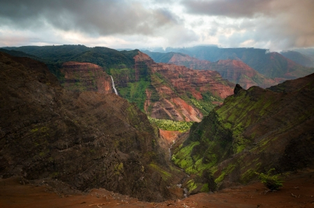 Waimea Canyon - fun, cool, canyon, nature, mountain