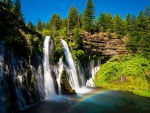 McArthur-Burney Falls, California