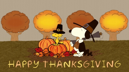 Snoopy thanksgiving 3d and cg abstract background - Snoopy thanksgiving wallpaper ...