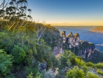 three sisters rock formation in australia